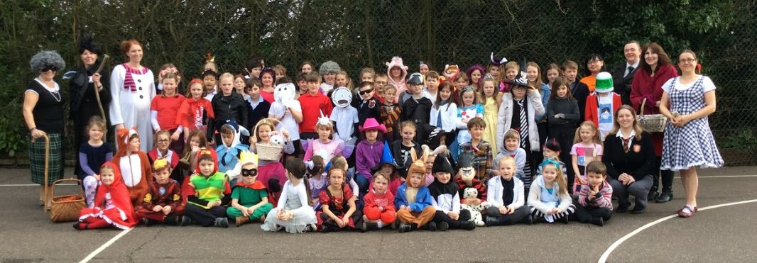 World Book Day school photo
